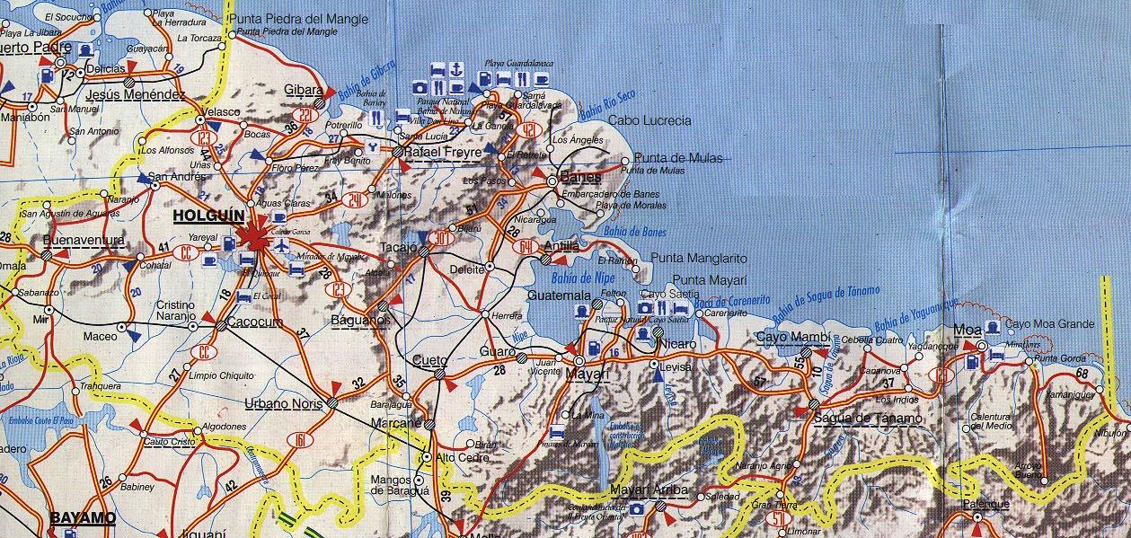 holguin province map