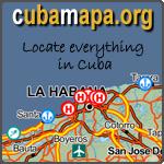 cuba mapa .org - Locate car rentals places in Cuba